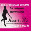 Rose è Moi  Valence logo